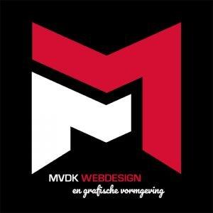 Logo ontwerp en Design MVDK Webdesign