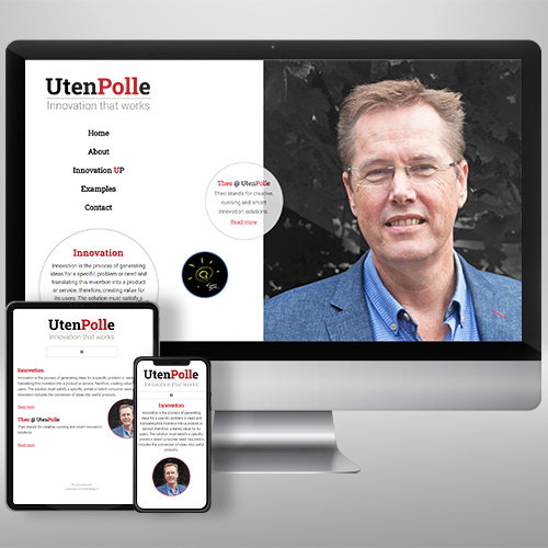 Webdesign UtenPolle Independent Innovation Consultant