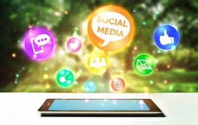 Thuiswerken en social media