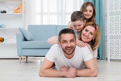 Thuiswerken informeer uw familie en vrienden