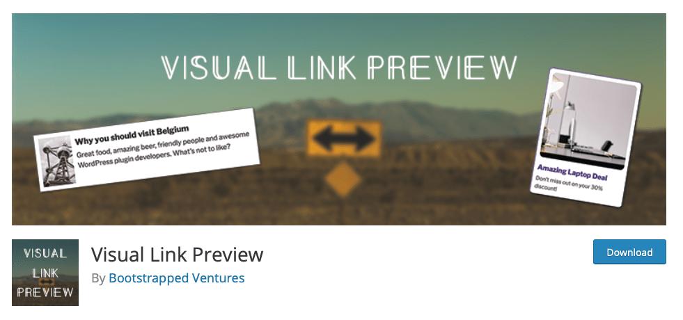 Visuele link preview