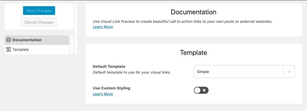 Instellen en aanpassen visuele link preview